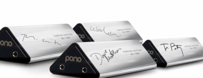 Custom chrome pono players for kickstarter investors